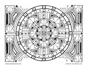 Free Coloring Page (013-FN-D001)