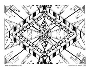 Free Coloring Page (013-FN-D003)