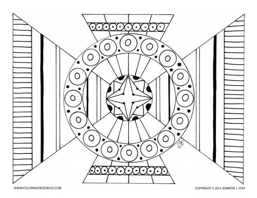 Adult Coloring Page Image