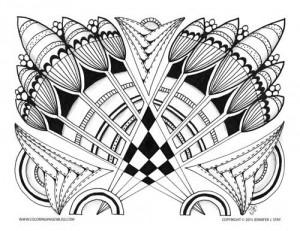 Premium Coloring Page (013-PW-D009)