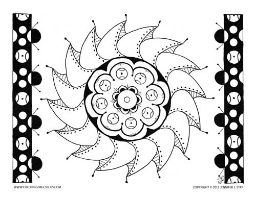 Premium coloring page 013 pw s005 for Coloring pages bliss