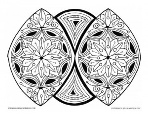Example of a Coloring Sheet