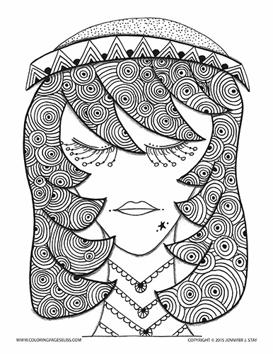 Free coloring page 015 pb d001 for Coloring pages bliss