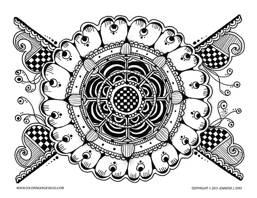 Premium coloring page 015 pw d002 for Coloring pages bliss