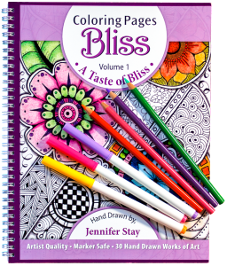 Coloring Pages Bliss Book