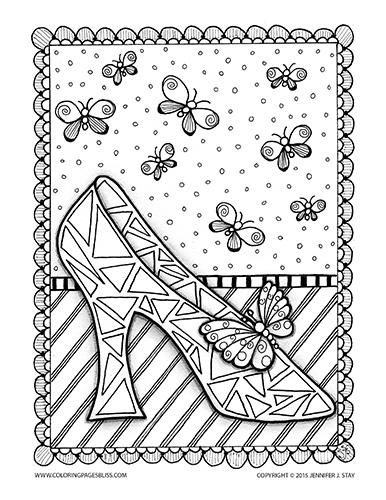Free Cinderella Coloring Page