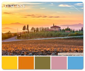 Tuscany Country Side Color Palette