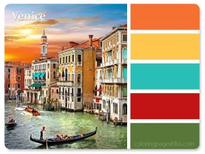 Venice Italy Color Palette