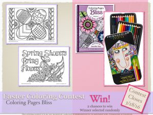 Easter 2016 Coloring Contest