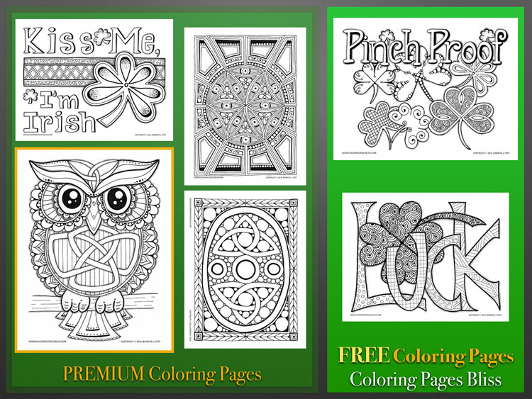 Download St. Patrick's Day Coloring Pages