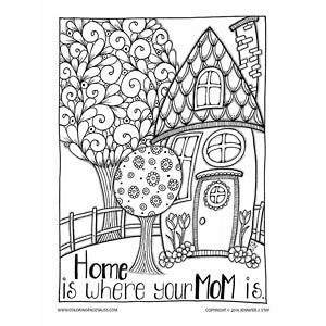 mother christmas coloring pages - photo#30