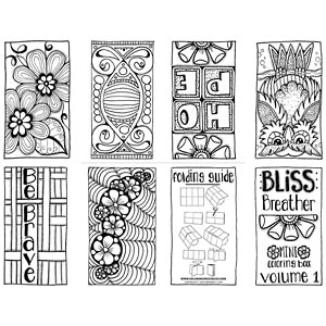 "Bliss Breather"" Free Mini Coloring Book – Volume 1"