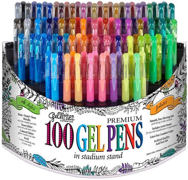 Win 100 Gel Writer Premium Gel Pens