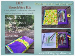 Do it Yourself Portable Art Sketch Kit