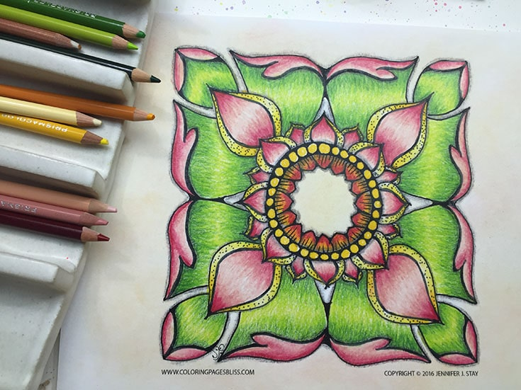 Free Thai Inspired Coloring Page