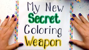 Secret Coloring Technique