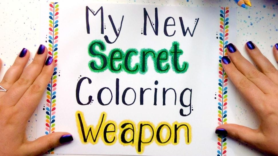 Secret Coloring Technique