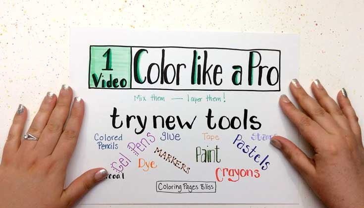 Color Like a Pro Video 1 - Try New Tools