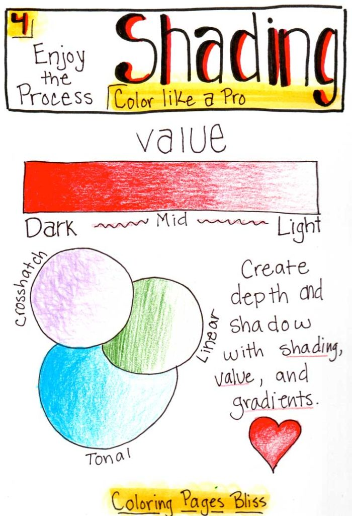 How to Shade Colors