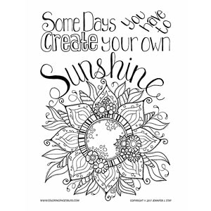 Sunshine Flower Inspirational Art