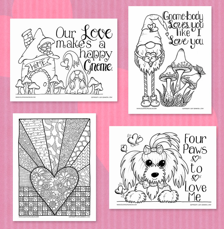 Valentine\'s Day Coloring Pages