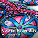 Coloring Pages Bliss Facebook Group