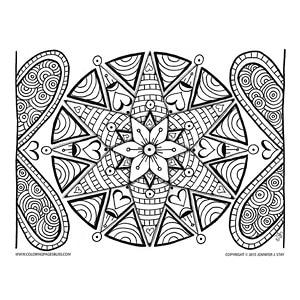 Valentine's Day Mandala