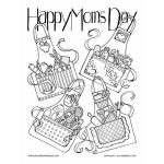 Happy Mom's Day Aprons