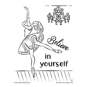 Inspirational Ballerina