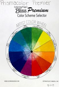 Prismacolor Premier Color Wheel