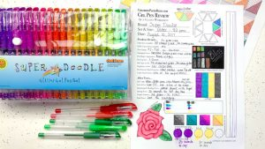 Super Doodle Gel Pens Review