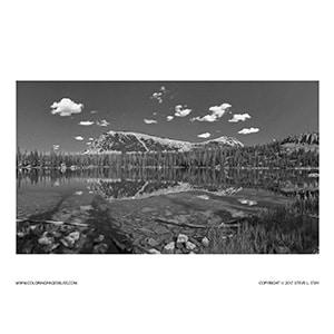 Uinta Mountain Lake
