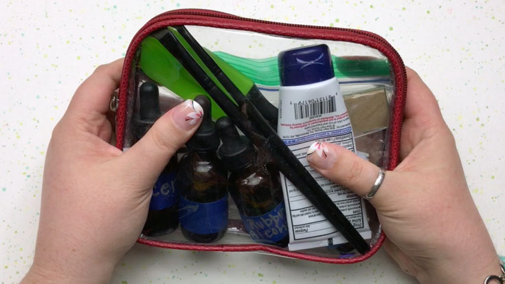 DIY Portable Art Blending Kit