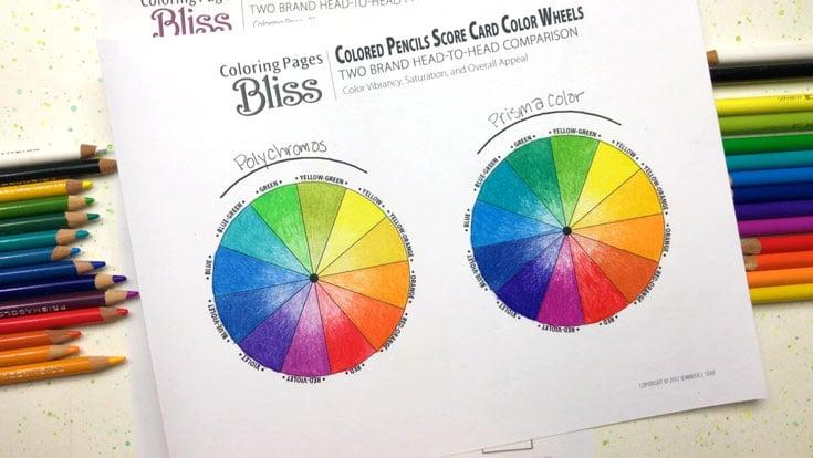 Prismacolor Premier vs Faber-Castell Polychromos Colored Pencils
