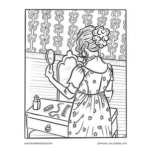 Regency Era Girl Getting Ready for a Ball