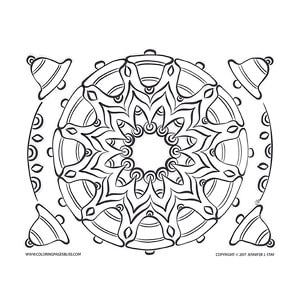 Christmas Bells Mandala