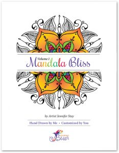 Mandala Bliss Coloring Book