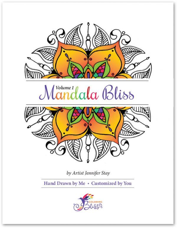 Mandala Bliss Coloring Book