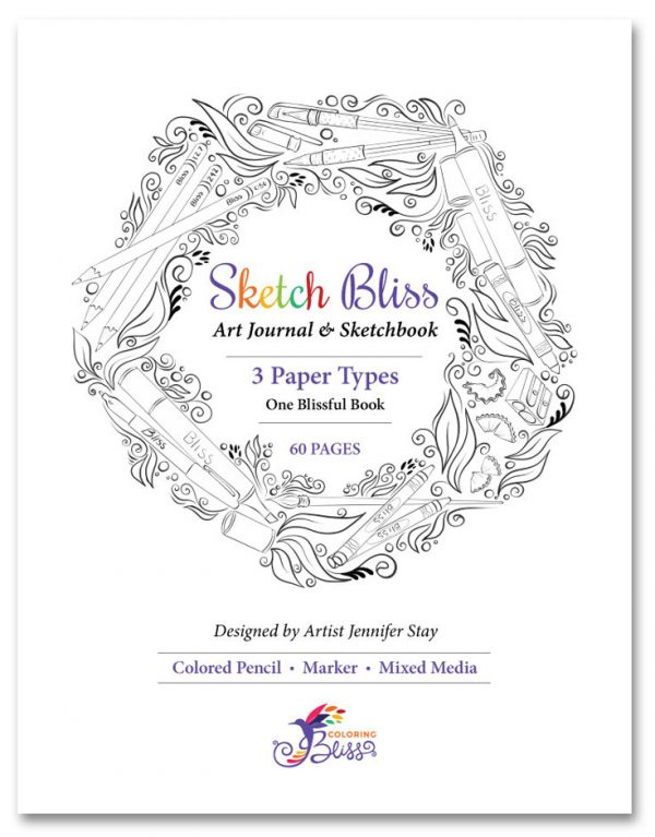Sketch Bliss Art Journal and Sketchbook