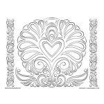 Art Nouveau Valentines Heart