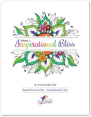 Inspirational Bliss Volume 1 Coloring Book