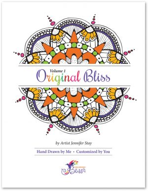 Original Bliss Coloring Book - Volume 1