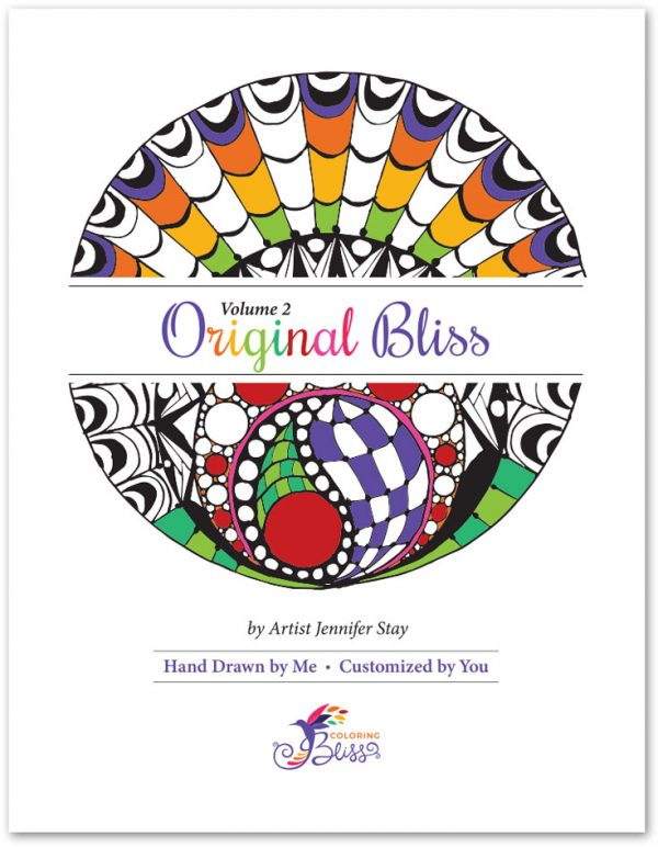 Original Bliss Volume 2 Coloring Book