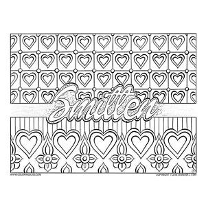Smitten Valentine's Card