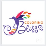 Coloring Bliss on Facebook