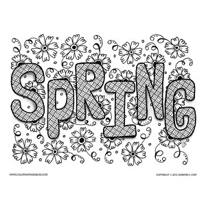premium spring easter coloring pages - Coloring Pages Com