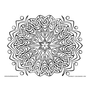 Celtic Knots Mandala