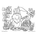 Easter Bunny Scandinavian Gnome