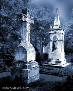 Cemetery Monuments Reference Photo