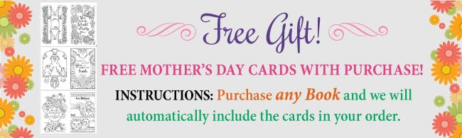 Free Mother's Day Cards with any Book Purchase